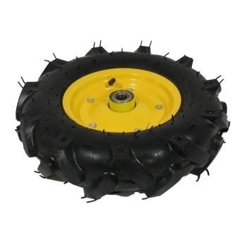 Roata roaba - TT - ax 20mm - rulment - crampoane - 4.00-8 4PR - MTO-GPA00045