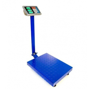Cantar Electronic Comercial Blade 300 Kg, Platforma din Otel Striat, Brat Rabatabil, Profesional