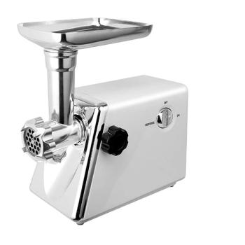 Masina Electrica de Tocat Carne 2800W, 2 kg / minut, Functie Revers, 3 Site, Cutite Metalice, Accesoriu Carnati, Corp Inox