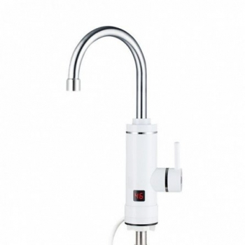 Robinet electric Aquatic Elefant SC30H11X, 3000W, Afisaj LED, Cartus ceramic, Temperatura apa 30-40 grade