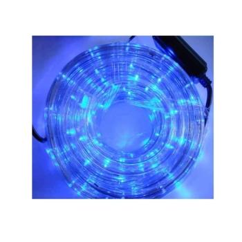 Instalatie Rola LED 10 m tip Furtun Luminos Albastru + Controller inclus