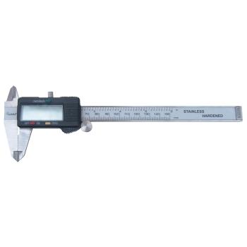 Subler digital Evotools 150 mm lungime, ± 0.03 mm precizie, ecran LCD