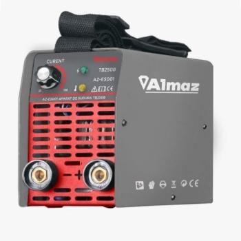 Aparat de sudura tip Invertor ALMAZ 250A, AZ-ES001, Electrod 1.6-4mm, accesorii incluse