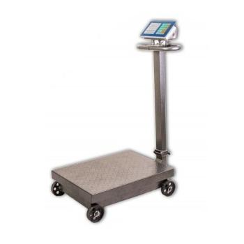 Cantar cu platforma si roti electronic, capacitate 600kg