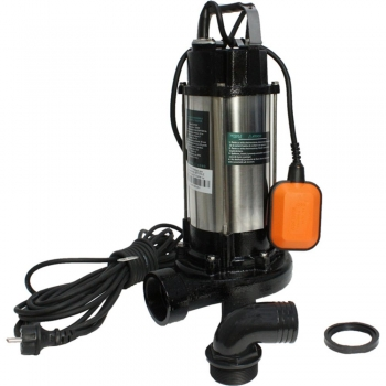 Pompa apa curata/ murdara submersibila cu tocator WQD1500DF DETOOLZ, 1500W