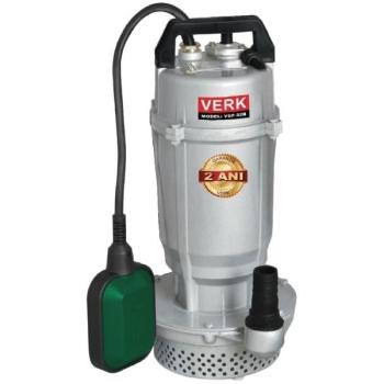 """Pompa Submersibila cu Plutitor pentru Apa Curata VERK VSP-32B, 750 W, 4000 l/h Debit Apa, 10 M Adancime Maxima, 1"""" Diametru Stut"""
