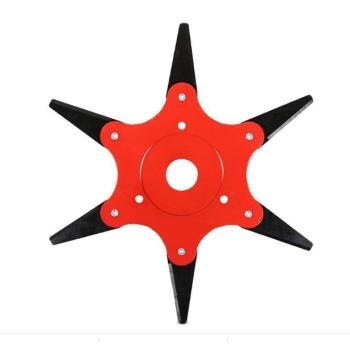 Disc Motocoasa 6 Dinti Pliabili, 255x25,4mm