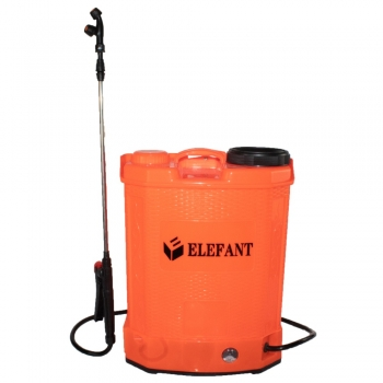 Pompa stropit gradina electrica elefant 12 litri, acumulator 6 bar, regulator, lance 85 cm, 3 duze