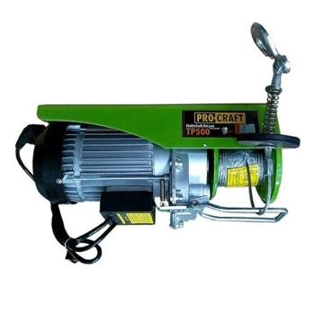 SCRIPETE - TROLIU PROCRAFT TP-500 250/500 KG - PALAN ELECTRIC MACARA