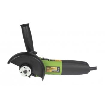 Flex Unghiular Procraft PW 1100, 1.1 kW, 11000 RPM, Diametru disc 125 mm