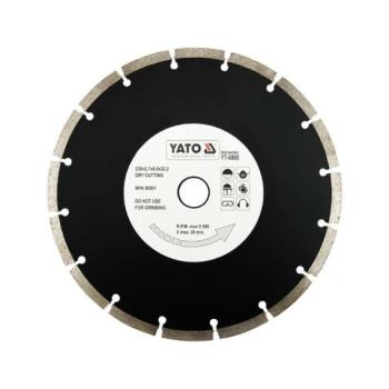Disc Diamantat Segmentat 230x22.2x2.7mm Yato YT-6005