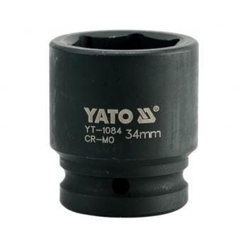 "Cheie Tubulara de Impact Hexagonala 34mm 3/4"", YATO YT-1084"