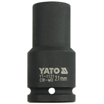 """Cheie Tubulară de Impact Hexagonala Lunga 21mm 3/4"""", Yato YT-1121"""