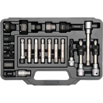 Trusa chei pentru alternator cu 22 piese, Yato YT-04211