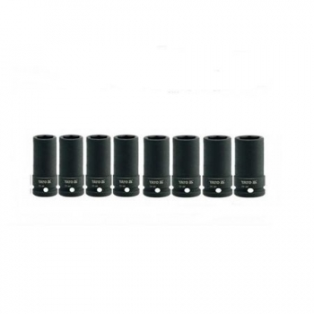 Set 8 chei tubulare de impact YATO 3/4, 22-41mm, YT-1155