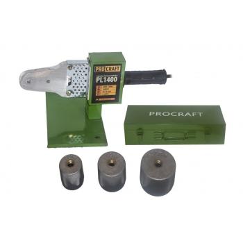 Plita PPR Procraft PL1400, 1400W, 300 grade C, trusa cu 3 bac-uri