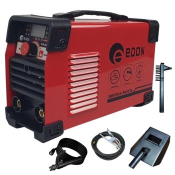 Invertor de sudura EDON MMA 365, afisaj electronic, ventilator racire, cablu sudura 2.8m, cablu masa 1.8m
