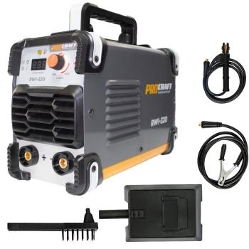 Aparat de sudura MMA ProCraft Industrial RWI 320, 320A, 230V, 20-320A