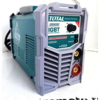 Aparat de Sudura tip Invertor TOTAL MMA-200, 220V, 200A, Electrod 1.6-5.0mm, INDUSTRIAL