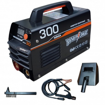 Aparat de sudura Invertor URALZID MMA300, 300Ah, afisaj electronic