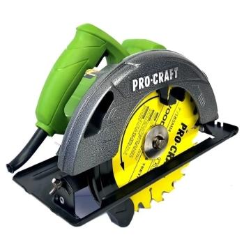 Circular Electric de Mana Procraft KR2300, 2300W, 185mm, 5000RPM (2 Discuri)
