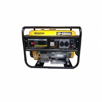 Generator electric 5.5KW, 13CP, 4 timpi, monofazat, pe benzina Gospodarul Profesionist, GP-6500A
