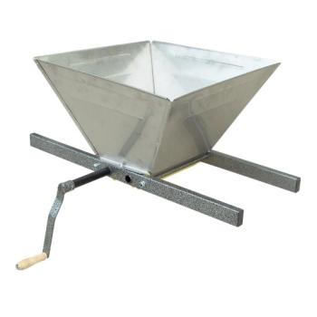 Zdrobitor Manual pentru Fructe, Capacitate 100kg/ora, Cuva din Inox
