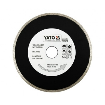 DISC DIAMANTAT 180MM CERAMICA, STICLA -YT-6016