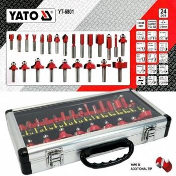 Set Freze pentru Lemn 25 piese YT-6801