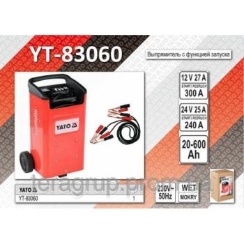 Robot de pornire Auto 12V/24V, 20-600Ah YATO YT-83060