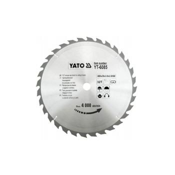 PANZA FIERASTRAU CIRCULAR PT.LEMN 400X32X30MM Yato YT-6085