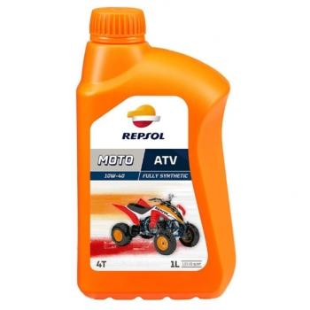 Ulei Moto REPSOL ATV 4 Timpi 10W40 1 Litru