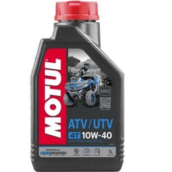 Ulei Moto Mineral MOTUL ATV UTV 4 Timpi 10W40 1 Litru