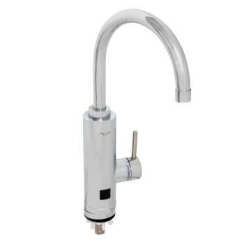 Robinet electric (instant apa calda) Inox Aquatic Elefant afisaj Led SC30H45X