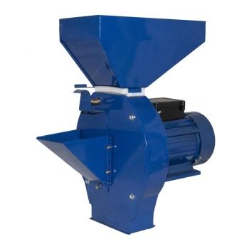 Moara electrica pentru fructe si legume, ELEFANT cm-1.1D, motor cupru 3.5KW, 200kg/ora + 4 site