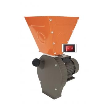 Moara Cereale ELEFANT 3500LC Cuva Mare, Uruitor electric 3.5 kW, 3000 rpm, 4 site