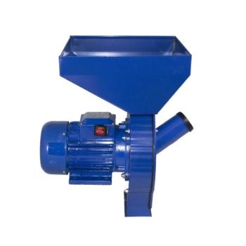 Moara Electrica Uruiala si Cereale Cuva Mare Belarus Albastra, 3.5KW, 240kg/ora, 2850 RPM