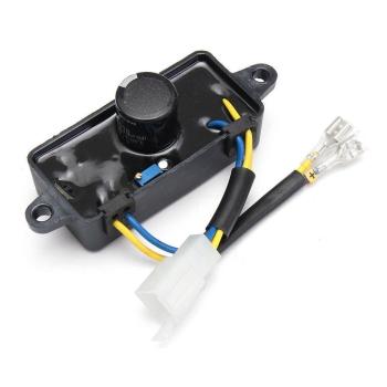 Regulator Tensiune AVR Generator 2.5KW (250V 220uF) Dreptunghi, Carcasa din Plastic, 2 Fire + Mufa 4 Pini