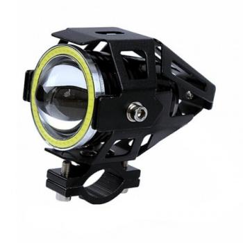 Proiector Moto LED cu Angel Eye, 10 W, tip U7