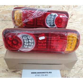 Set Lampi Stop Remorca, Rulota, Camion LED 12V(stanga/dreapta)