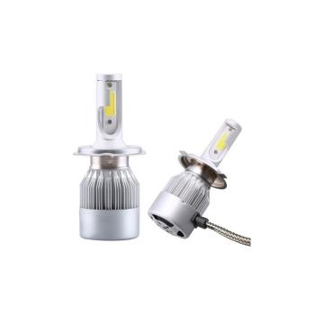 Kit 2 LED-uri Auto H4 48W 3800 Lumeni 6000K C6, 12 Volti