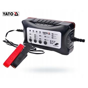 Redresor auto 6V/12 V, 1/4A, 200Ah, Yato YT-8300
