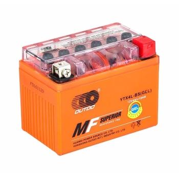 Baterie Scuter, ATV cu GEL 12V, 4Ah (113x70x85)