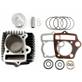 Kit cilindru ATV 107cc, 110cc, 4 Timpi (52.4mm)